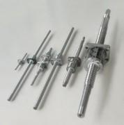 导程丝杆、滚珠丝杆、直线导轨、滚珠丝杆支撑座、弹性联轴器、直线轴承及光轴、直线模组、步进电机、蜗轮、蜗杆