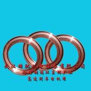 铜合金镶嵌固体自润滑轴承、电机转子端环、铜型材等
